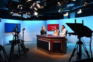 PBS Health Channel - Behind the Scenes with host and Baptist Health's Lucette Talamas and Carla Duenas