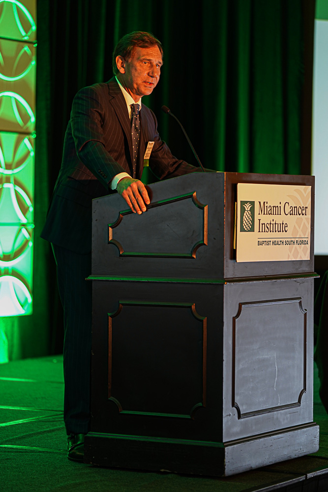 Dr. Guenther Koehne at the Inaugural Miami Cancer Institute Summit of the Americas on Immunotherapies for Hematologic Malignancies