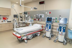 Baptist Health Emergency Care center in West Miami-Dade_Trauma Room